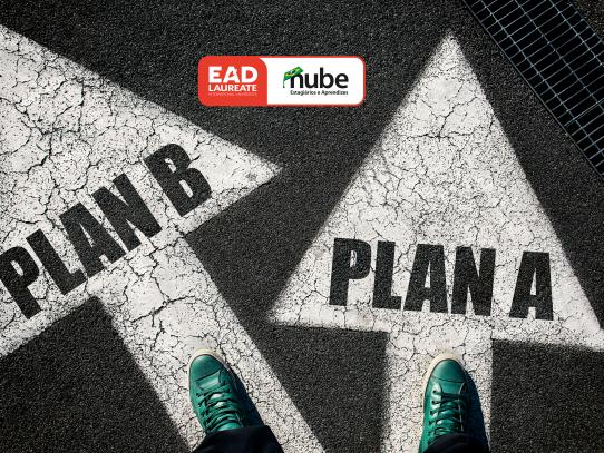 Tenha um plano B! | EAD Laureate + Nube
